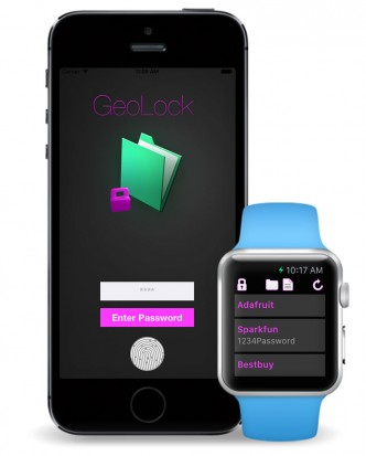 GeoLock for Apple iPhone & Apple Watch
